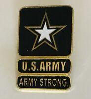 US Army Strong Pin Badge Rare Vintage (N5)