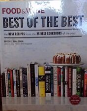 Food & Wine Best of the Best from 25 Cookbooks Vol. 16 new hardcover