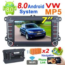 7inch 2 DIN Car  MP5 Android GPS Navigation Player Audio Bluetooth  Touch Screen