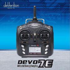 Walkera DEVO 7E 2.4G 7CH Radio DSSS LED Control Transmitter For RC Quadcopter