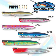 Williamson Popper Pro Fishing Lures 180mm Stick Baits Topwater Rapala GT Tuna