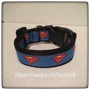 Nylonhalsband-SuperDog Kollektion-Superman..2Größen-2breiten