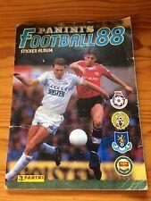 Panini Football 88 sticker album - good condition - 60% complete