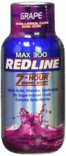 VPX Redline Power Rush Energy Max 300 Shot Supplement, Grape, 2.5oz - 12 Pack!