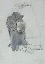 Hans kutschke-sospeso bambini (Sicilia) - Matita & inchiostro di china 2009