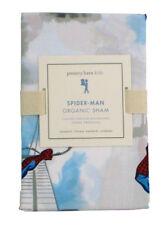Pottery Barn Kids Spider-Man Bed Sham Standard Sized Organic Marvel Bedding New