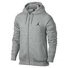 Jordan Gym Grey 23/7 Full Zip Fleece Hoodie