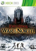 LORD OF THE RINGS: WAR IN THE NORTH  ( JEUX XBOX 360 ) COMPLET / CIB