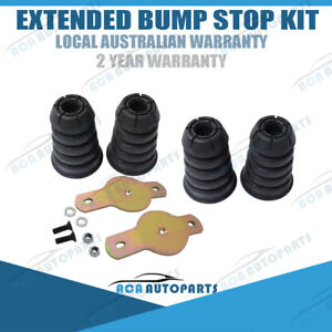 Front & Rear Extended Bump stop for Nissan Patrol GU GQ With Brackets Plates