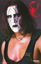 POSTER : WRESTLING: STING - WHITE FACE - WCW -    FREE SHIPPING ! #288   RBW1 K