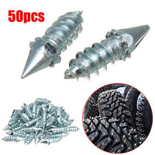 50pcs Screw in Tire Stud Spikes Racing Track Tire Ice Studs Snowmobile ATV Car