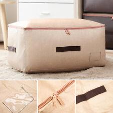 Grande Bolsas de almacenamiento Caja Gigante Ropa Edredón Ropa de cama Almohadas