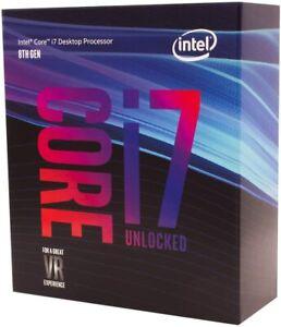 Intel Core I7-8700k 3.7GHz Prozessor Sockel 1151v2