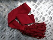 Genuine British Army Guards / Army Infantry Burgundy / Maroon Sash All Sizes