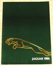 1986 JAGUAR Sales Brochure -XJS XJ-SC Sovereign XJ6 Daimler Double Six Limousine