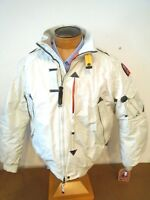 Parajumpers P.J.S Masterpiece Down Fill Fire Jacket  NWT XXL $640 Chalk White