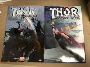 Thor God Of Thunder Volume 1 & 2 Marvel Comics HC OHC Jason Aaron