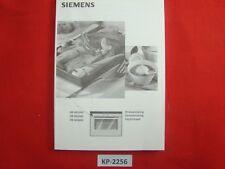 SIEMENS QuantumSpeed HB86q560 / 260 / 660 Bruksanvisning