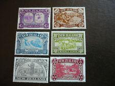 Stamps - New Zealand - Scott# 950-955