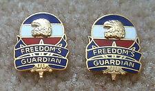 Forscom (Army Forces Command) unit crests (Pair)
