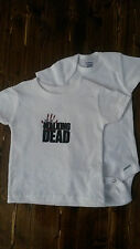 THE WALKING DEAD ONESIES   3/6, 6/9, 12, OR 18 MONTHS  T-SHIRTS 6  OR 12  MONTHS