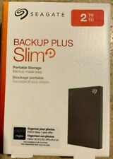 Seagate STHN2000400 Backup Plus USB 3.0 2TB External Hard Drive  - Black
