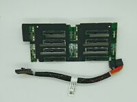 "Dell PowerEdge R710 2.5"" SAS/SATA Backplane MX827 with Cable RN696"