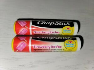 ChapStick Summer Collection, Strawberry Ice Pop 2 pack