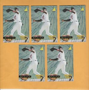 5 LOT 1994 PINNACLE #267 TORII HUNTER ROOKIE MUSEUM COLLECTION 5 LOT TWINS NM-MT