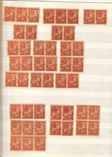 Chile 1896 Postage Due Stamps  Multa / Multada Collection /Accumulation (45) MNH