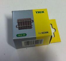 Trix 62206 6 Stück (1xVerpackung) C-Gleis gebogen R2=437,5mm  5,7° neu OVP H0 DC