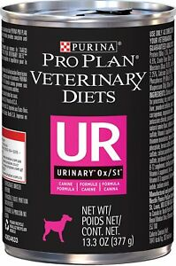 Purina Veterinary Diets Dog Food UR [Urinary St/Ox] (12 cans)