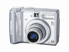 Canon PowerShot A540 Digital Camera 6.0MP 4X Optical Zoom