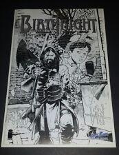 Birthright #1 NYCC Sketch B&W Variant High Grade Optioned Skybound Williamson