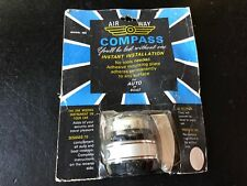Vintage Nos 1950s-1960s AIRWAY  Automobile Accessory Compass Chevy Ford Mopar
