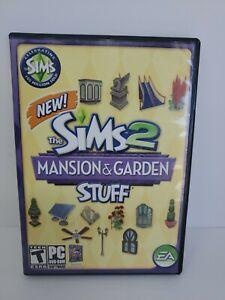 Sims 2: Mansion & Garden Stuff (PC, 2008) Free Shipping