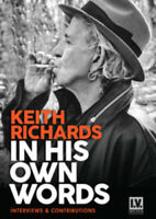 Keith Richards: In His Own Words DVD (2015) Keith Richards cert E ***NEW***