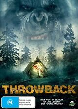 THROWBACK 2013 DVD HORROR CULT COMEDY MONSTER PICTURES