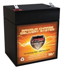 VMAX V06-43 Battery for 12V 6ah Minuteman E1100 AGM Battery replaces 5ah