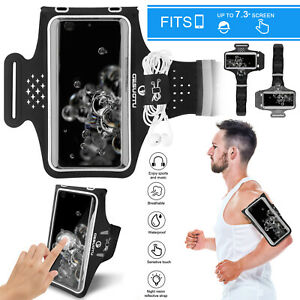 Sports Armband Phone Holder Arm Band Touch Case Cover for Running Jogging Gym US