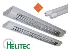 LED Aufbauleuchte Büro Deckenleuchte Fassung T8 Röhre HELITEC Mod. HRS-T13-T24