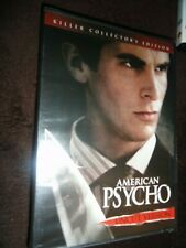 American Psycho Killer Collector's Edition Dvd New Sealed