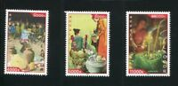 LAOS STAMP 2010 TRADITIONAL FESTIVAL 3v. MNH