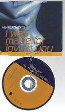 CD--HEART ATTACK--    I WAS MADE FOR LOVING YOU