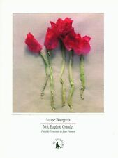 Moi, Eugénie Grandet by Louise Bourgeois, French language paperback VERY GOOD