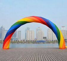 Brand New Discount 40ft*20ft D=12M/40ft  inflatable Rainbow arch Advertising  E