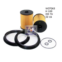 WESFIL FUEL FILTER FOR FOR MINI Cooper S JCW R53 05-07 1.6L SUPERCHARGED W11B16