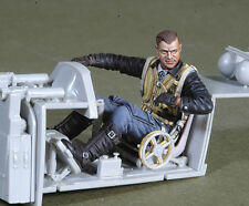 1/32 scale resin model kit wwii joseph prerller-german fighter ace