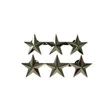 US 3 Star Lieutenant General Rank Badge - WW2 Repro American Stars Army Officer