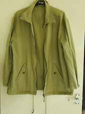 Racing Green Men's Cotton Jacket, Size: Medium, Olive Green - PERFECT CONDITION!